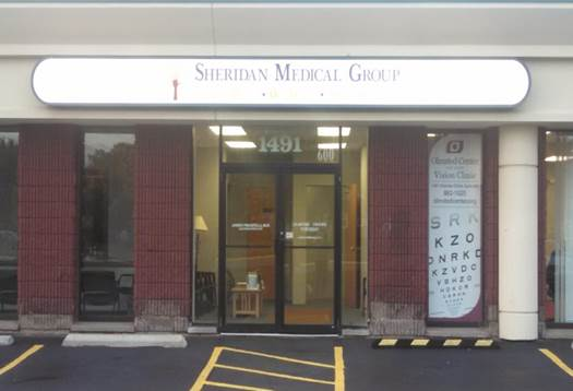 Sheridan Drive Office Entrance