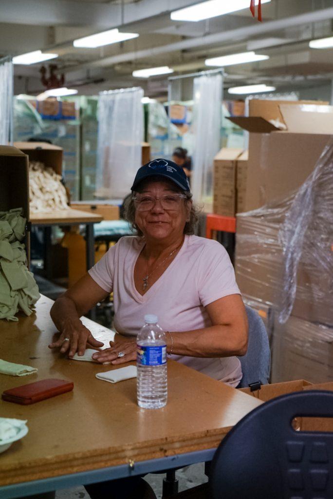 Bonadio staff working in VIA's manufacturing department.