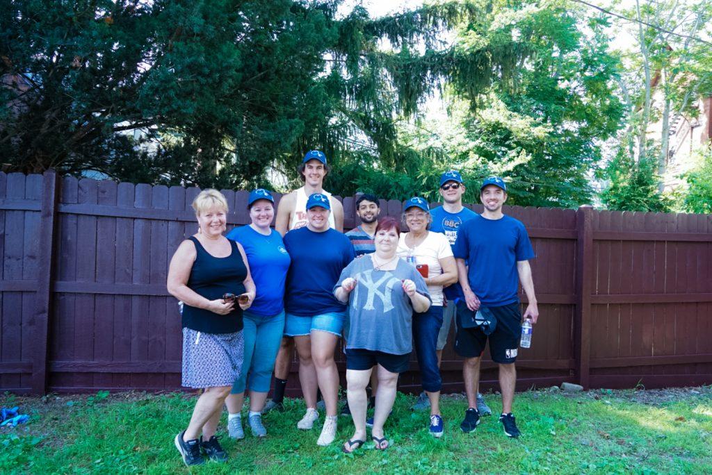Group photo of Bonadio staff after volunteering at VIA.
